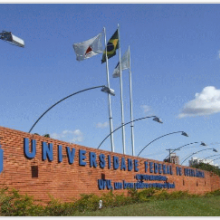 Campus Sta Mônica - Logo da Univ. Federal de Uberlândia